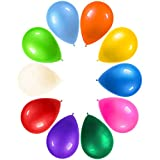 LYESHY 100 Pack Party Balloons 12 inch and 14 Pack HAPPY♥BIRTHDAY Banners Thickened Colourful...