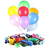 120 PCS Balloons Assorted Color, Latex Balloons for Kid's Birthday Party, Exquisite Birthday...