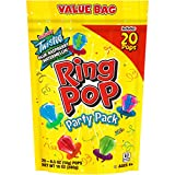 Ring Pop Individually Wrapped Bulk Lollipop Variety Party, Lollipop Suckers w/ Assorted Flavors Fun...