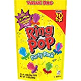Ring Pop Individually Wrapped Bulk Variety Party Lollipop Suckers with Assorted Flavors Fun Candy...