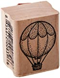 Stamps by Impression Hot Air Balloon Rubber Stamp