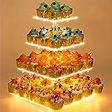Cupcake Stand - Premium Cupcake Holder - Acrylic Cupcake Tower Display - Cady Bar Party Décor - 4...