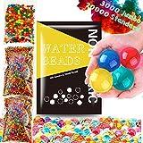 Leeche Non Toxic 300pcs Jumbo & 20000 Small Water Beads Gel Beads Kit for Kids-Value Package Sensory...