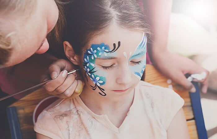 Face Painting Session