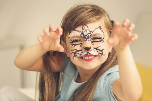 Can You Face Paint On Paper Kids Party Ideas