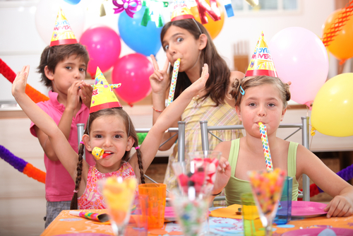 Kids on a Birthday Party