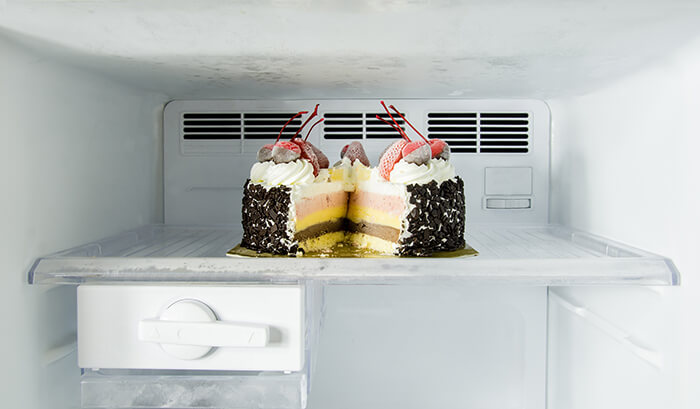 Cake in the Fridge