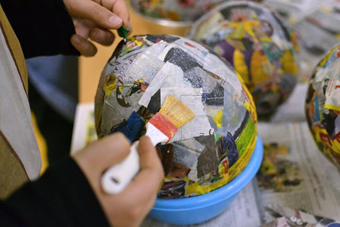 Creating a Pinata Out of a Balloon