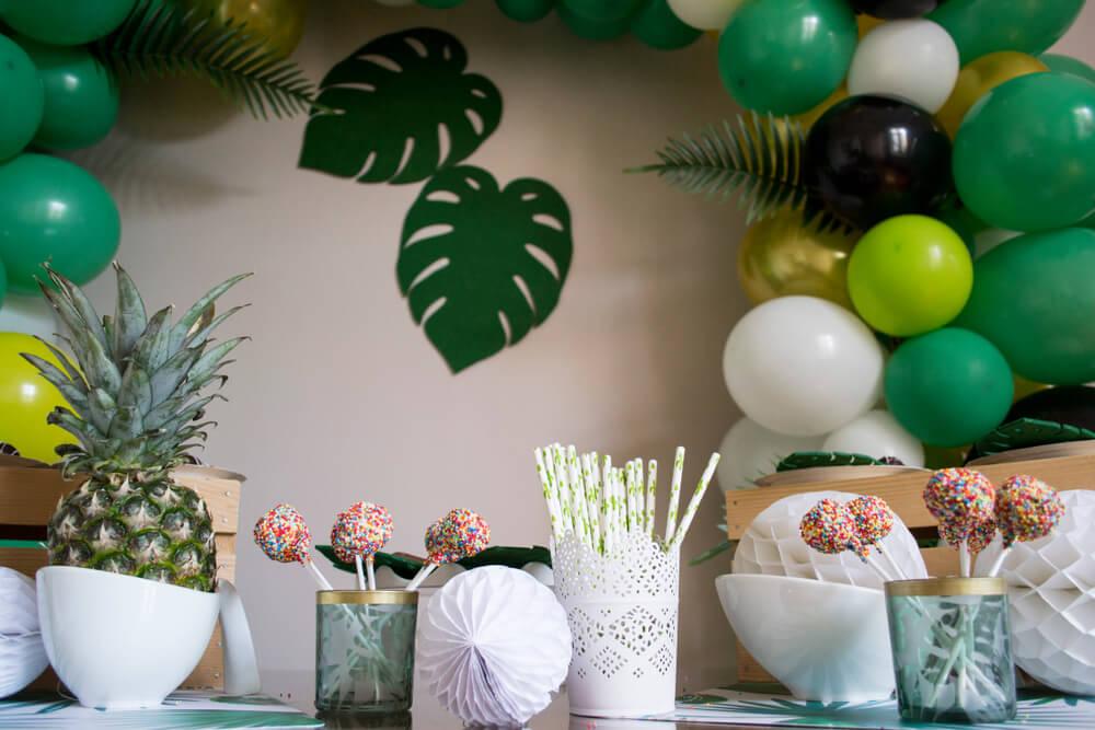 jungle theme decorations
